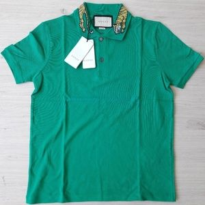 NEW GUCCI MEN CASUAL POLO SHIRT